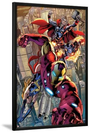 Avengers No.12.1: Iron Man, Ms. Marvel, Protector, and Thor