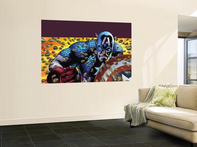 Captain America: Reborn No.4 Cover: Captain America