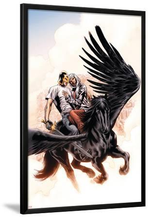 Captain Britian And MI:13 No.7 Cover: Black Knight