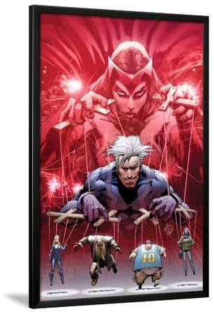 Ultimate Fallout No.5 Cover: Witch, Quicksilver, Sabretooth, Blob, and Mystique