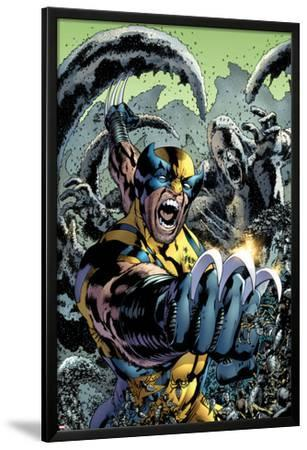 Wolverine: The Best There is No.10 Cover: Wolverine Screaming and Fighting