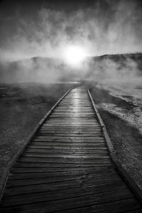 Dawn Over Buscuit Basin, Yellowstone National Park by Bryan Jolley