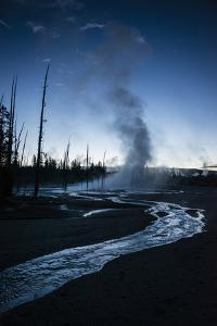 Dawn Over Upper Geyser Basin, Yellowstone National Park by Bryan Jolley
