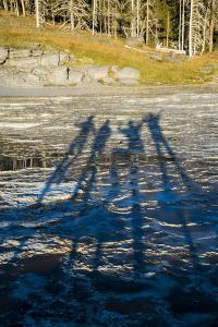 Shadow Play, Upper Geyser Basin, Yellowstone National Park by Bryan Jolley