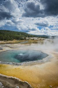 The Crested Pool In Upper Geyser Basin, Yellowstone National Park by Bryan Jolley