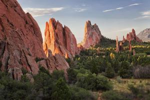 Usa, Colorado, Colorado Springs, Garden of Gods, Rock Formations by Bryan Mullennix