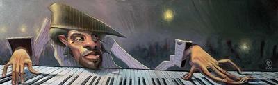 Jazz Quintet-BUA-Art Print
