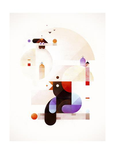 Bubble Dream-Antony Squizzato-Giclee Print