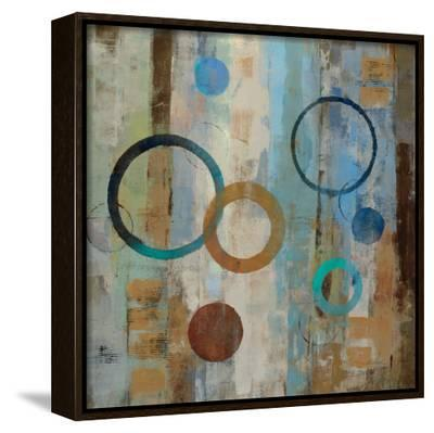 Bubble Graffiti II-Silvia Vassileva-Framed Canvas Print
