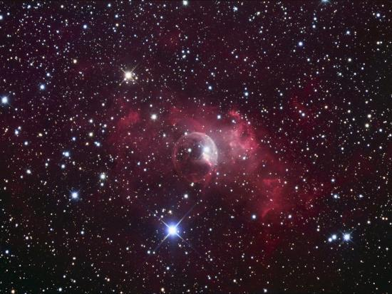 Bubble Nebula in Cassiopeia, Nm7, Ngc7635-Robert Gendler-Photographic Print