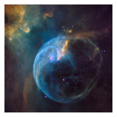 Bubble Nebula (NGC 7635)--Art Print