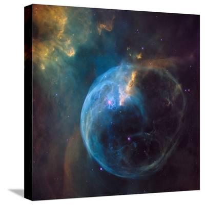 Bubble Nebula (NGC 7635)--Stretched Canvas Print