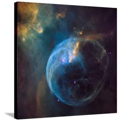 Bubble Nebula (NGC 7635)--Stretched Canvas Print
