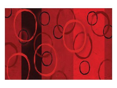 Bubble Study and Stripes I-Franz Kandiny-Art Print