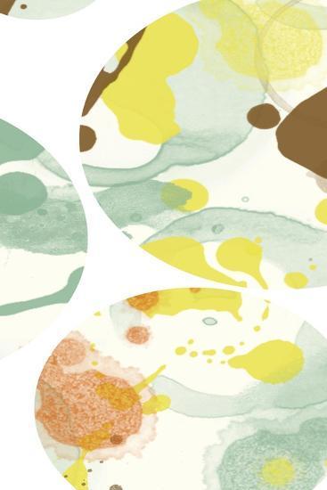 Bubbles 1-Jan Weiss-Art Print