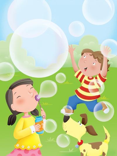 Bubbles - Humpty Dumpty--Giclee Print
