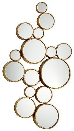 Bubbles Mirror--Wall Mirror
