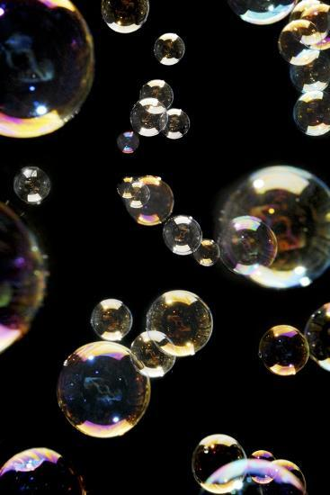 Bubbles-Crown-Photographic Print