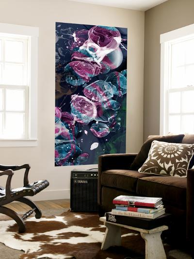 Bubbling Midnight 1-THE Studio-Wall Mural