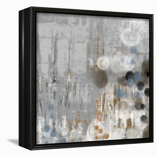 Bubbly I-Jennifer Goldberger-Framed Canvas Print