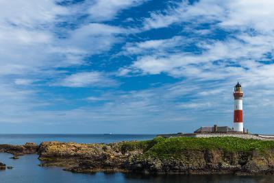 Buchan Ness Lighthouse at Boddam- panalot-Photographic Print