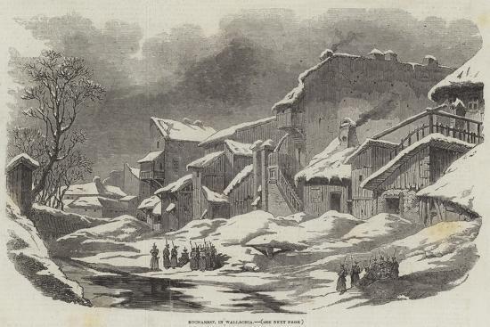 Bucharest, in Wallachia--Giclee Print