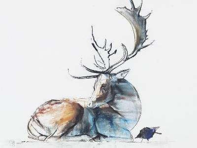 Buck and Bird, 2006-Mark Adlington-Giclee Print