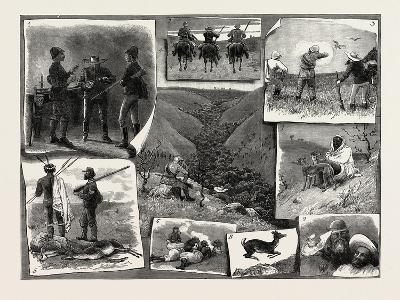 Buck Hunting at the Cape--Giclee Print