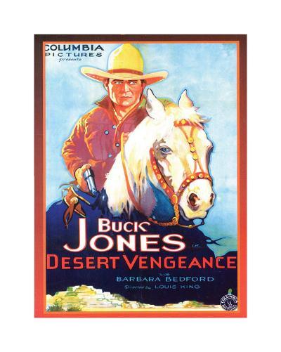 Buck Jones--Giclee Print