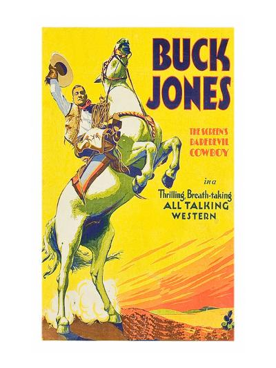 Buck Jones--Art Print