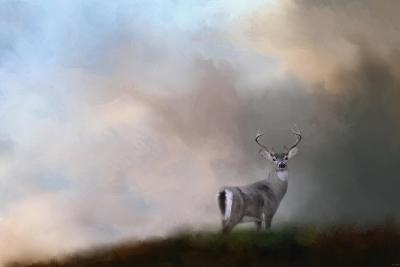 Buck on the Hill-Jai Johnson-Giclee Print