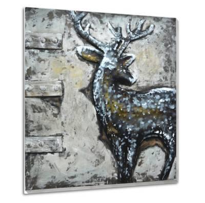 Buck--Metal Wall Art