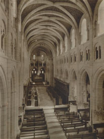 'Buckfast Abbey Church (Interior)', late 19th-early 20th century-Unknown-Photographic Print