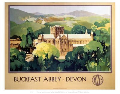 Buckfast Abbey Devon--Art Print