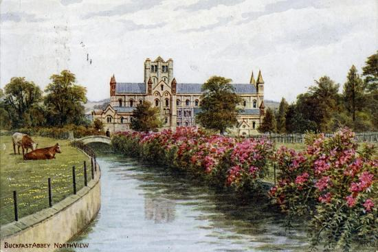 Buckfast Abbey, North View, Devon-J Salmon-Giclee Print