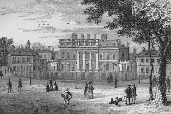 Buckingham House, Westminster, London, in 1775, c1875 (1878)-Unknown-Giclee Print