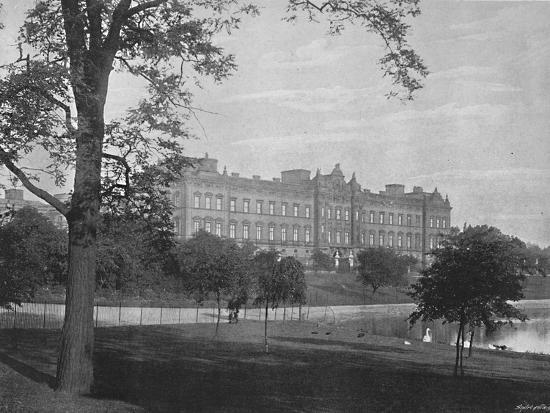 'Buckingham Palace', c1896-Unknown-Photographic Print