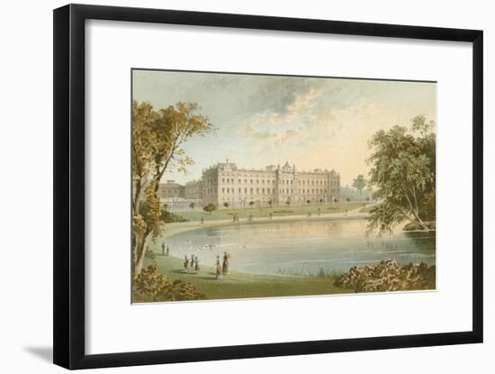 Buckingham Palace from St. James' Park-English School-Framed Giclee Print