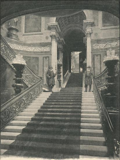 'Buckingham Palace: The Grand Staircase', 1886-Unknown-Giclee Print