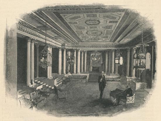 'Buckingham Palace: The Marble Hall', 1886-Unknown-Giclee Print