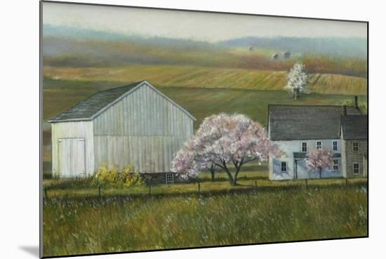 Bucks Co Spring-Jerry Cable-Mounted Premium Giclee Print