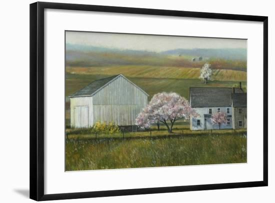 Bucks Co Spring-Jerry Cable-Framed Giclee Print