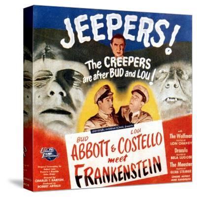 Bud Abbott & Lou Costello Meet Frankenstein, 1948