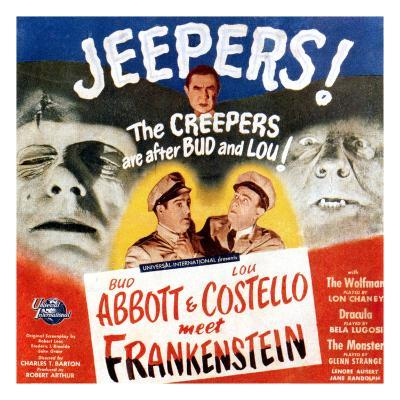 Bud Abbott & Lou Costello Meet Frankenstein, 1948--Photo