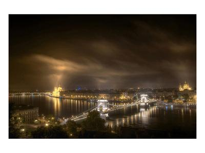 Budapest From Buda Castle--Art Print