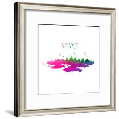 Budapest Hungary-Wonderful Dream-Framed Art Print