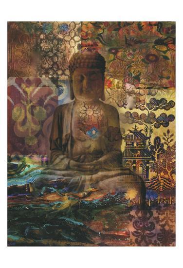 Buddah Zen-Smith Haynes-Art Print