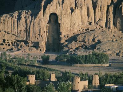 Buddha at Bamiyan, Unesco World Heritage Site, Since Destroyed by the Taliban, Bamiyan, Afghanistan-Christina Gascoigne-Photographic Print