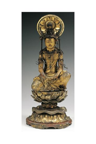Buddha, Bronze Statue, Japan, 18th-19th Century--Giclee Print