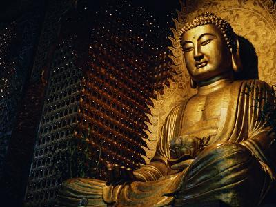 Buddha Found in a Temple in the Buddhist Monastery Foguangshan-xPacifica-Photographic Print